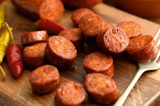 Cooking Chorizo
