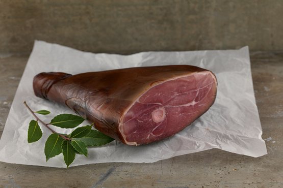 Half on the Bone Shropshire Black Ham%