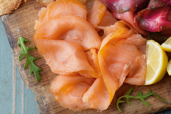 Sliced Oak Smoked Salmon