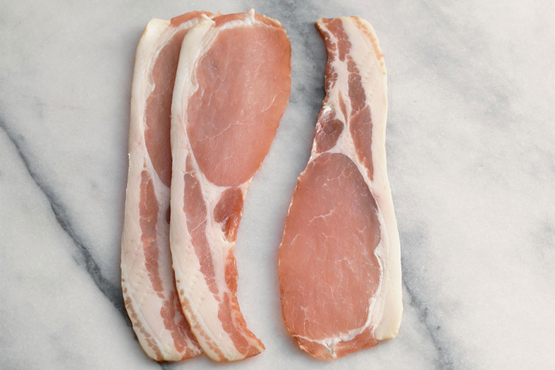 Sweet Cured Back Bacon 300g