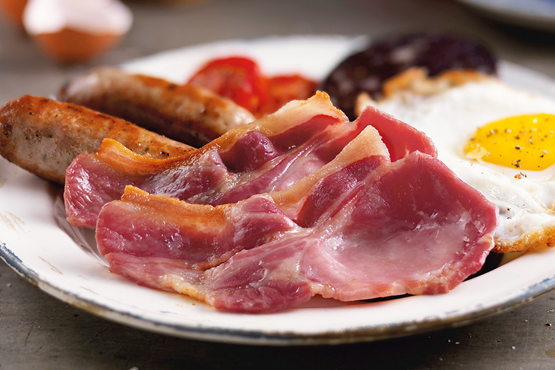 Unsmoked Dry Cured Back Bacon 300g
