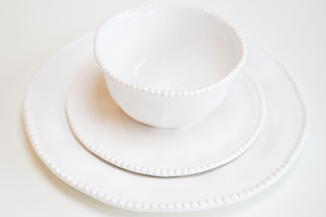 Bead Edge Place setting