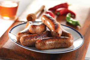Honey & Chilli Sausages - Single pac