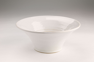 Glazed Ceramic Serving Bowl