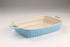 Large Blue Oven Dish