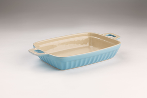 Medium Blue Oven Dish
