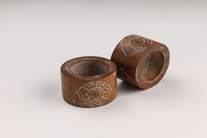 Hand Carved Wooden Napkin Ring