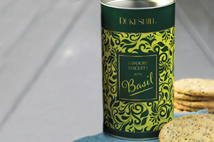 Savoury Biscuits with Basil