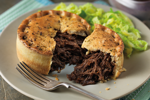 Braised Steak & Ale Pie