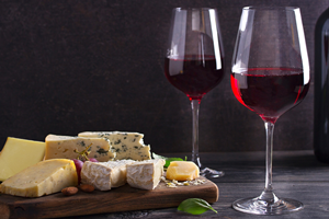 Cheese & Wine Tasting Selection