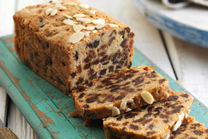Cherry & Almond Loaf Cake