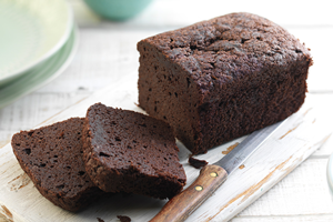 Chocolate Sponge Loaf Cake