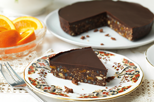 Dark Chocolate & Orange Tiffin