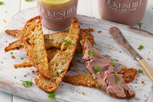 Duck Liver Pate with Cointreau