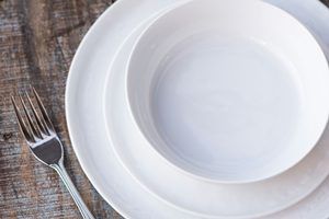 Delicate Porcelain Place Setting Option