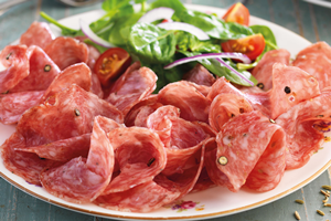 Sliced Salami Selection, 3 x 100g