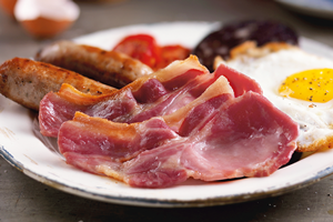 Smoked Dry Cured Back Bacon 300g