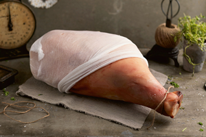 Whole on the Bone York Ham (Uncooked